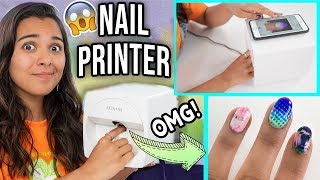 Beauty Busters: I Tried A Nail Art Printer! (CRAZY!)