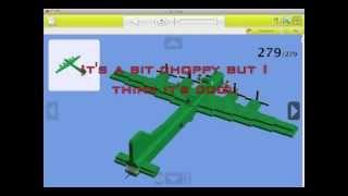 Building A Lego B-17 (LDD)