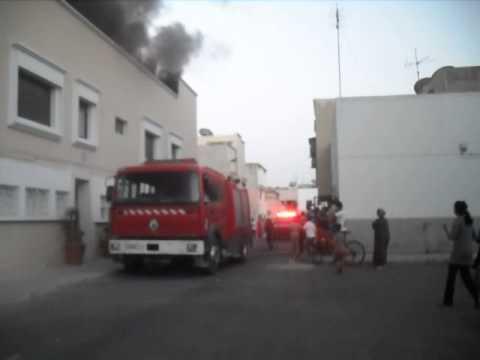 أكادير: حريق مهول بمنزل سببه قنينة الغاز مرة أخرى