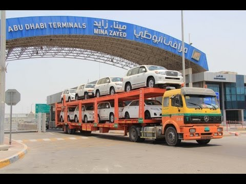 Zayed Port expands its Roro business during 2013