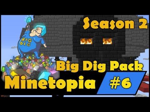 Minecraft Big Dig - Sky Base & Elite Factories - EP6
