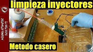 Limpieza de inyectores