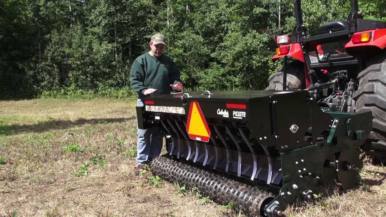 Cabelas By Woods Precision Seeder Youtube