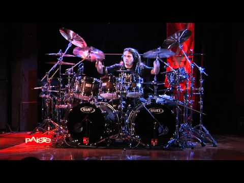 Aquiles Priester performance at 2011 Paiste Day LA