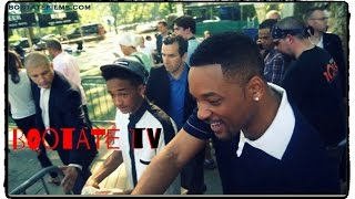Will Smith And Jaden Smith In New York HD Good Morning