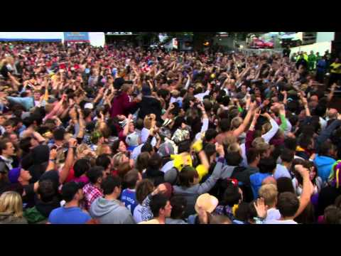 Feeder - Buck Rogers // LIVE @ Kendal Calling 2012