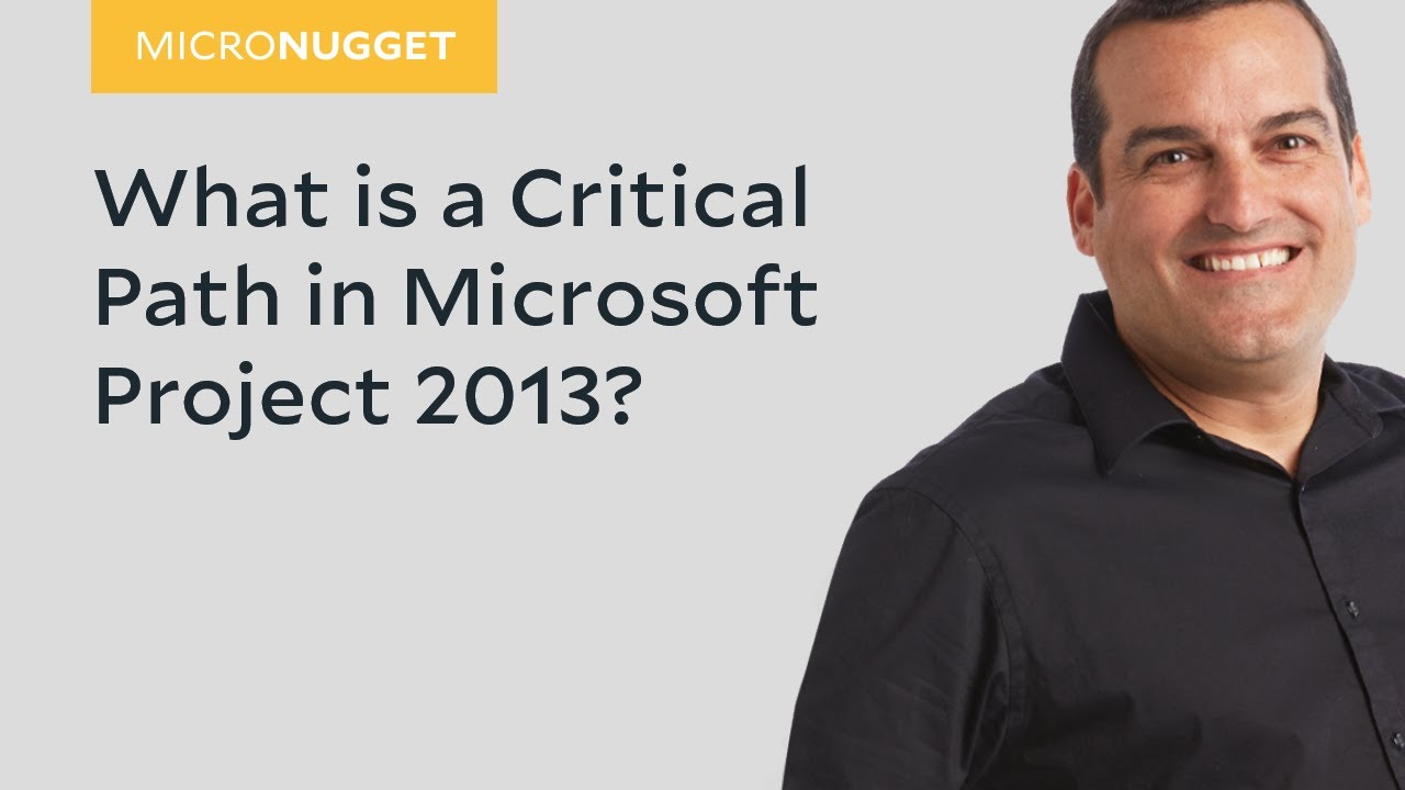 ms project critical path