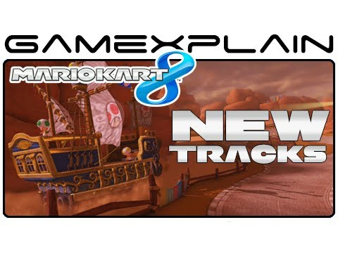 Mario Kart 8:  All 16 New Tracks! (Full Race)