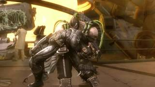 Injustice Battle Arena Fight Video: Batman Vs. Bane