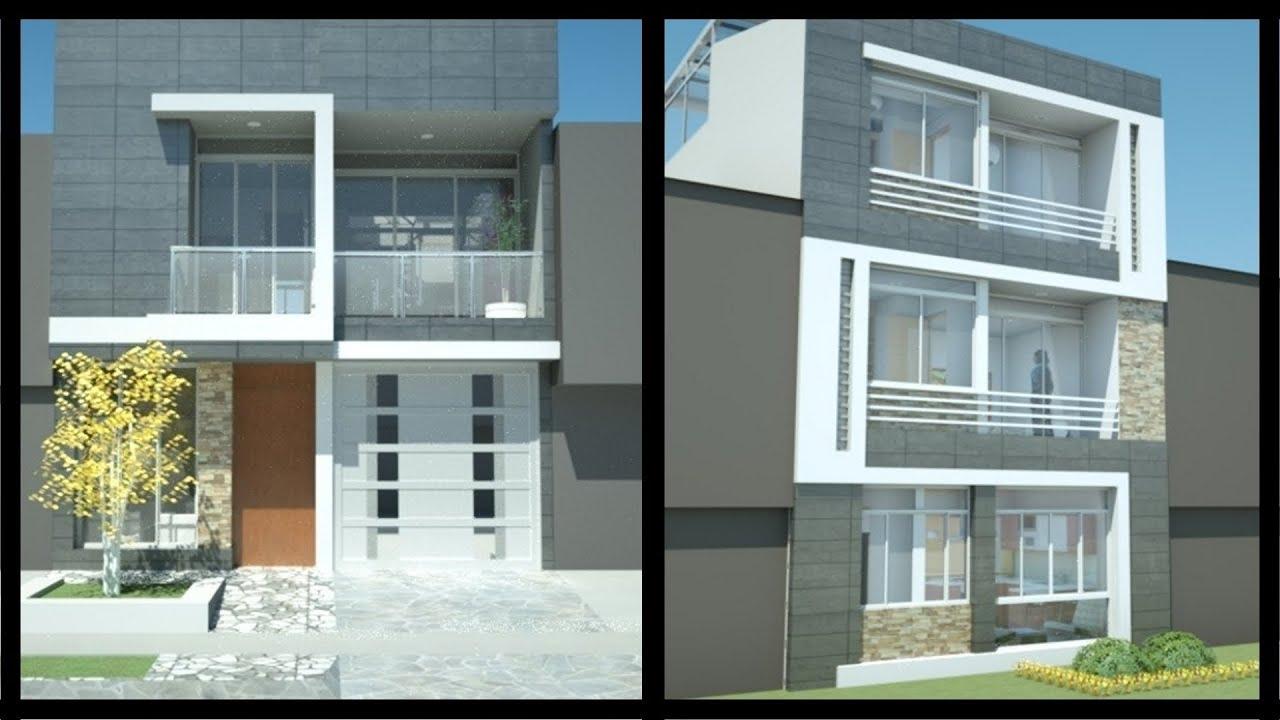 Casa Moderna Minimalista M X M 220 M Youtube