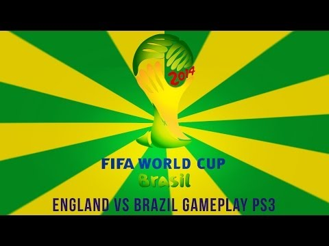 2014 FIFA World Cup Brazil PS3 Full Gameplay + Commentary  | England VS Brazil