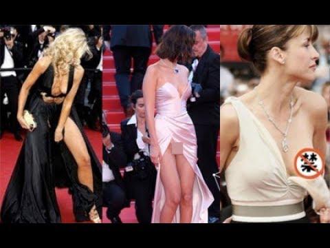 Những pha lộ hàng 'cháy mắt' trên thảm đỏ LHP Cannes[TIN TUC 24H]