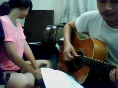Chậm lại 1 phút thôi - cover by Tâm Phúc and Tố Linh. guitar by Đỗ Toàn0000
