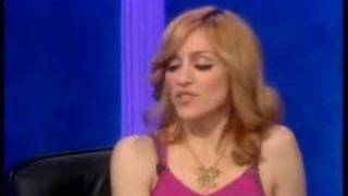 Madonna Putting On Her Infamous British Accent!