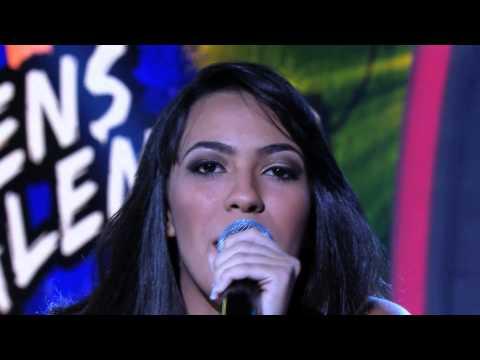 Programa Raul Gil - Thaís Ruas (Você Estava Ali) - Jovens Talentos - #JT2013