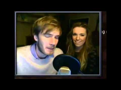 pewdie funny face and cryaotic scary jangan lupa wow nya ya