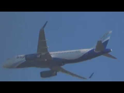 Indigo Airlines A320 Sharklets delivery flight  VT-IFU
