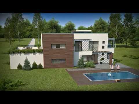 Projekty Z500 - projekt domu nowoczesnego Zx1
