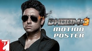 Dhoom:3 Motion Poster