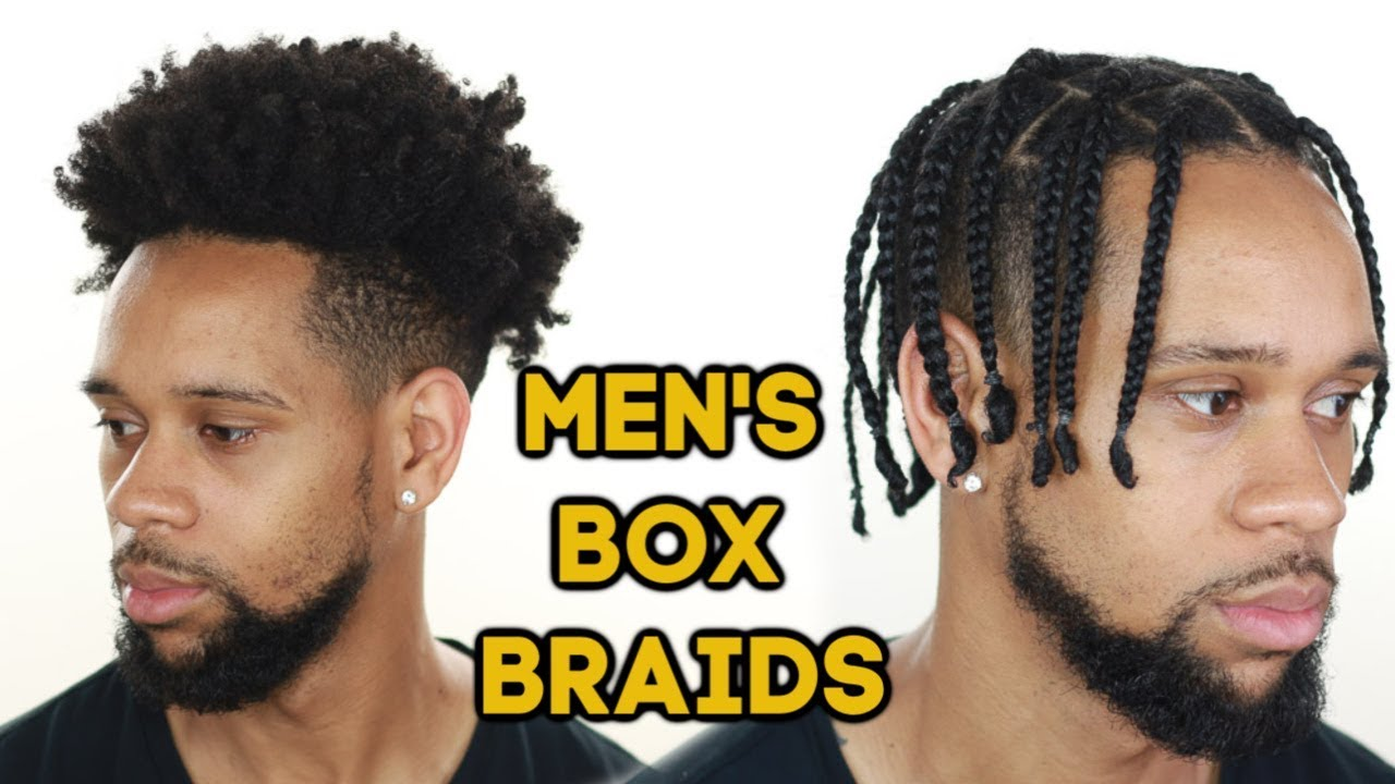 How To Box Braid Your Own Hair Men