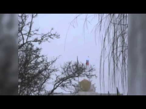 Russian flag flies over Crimean parliament in Simferopol