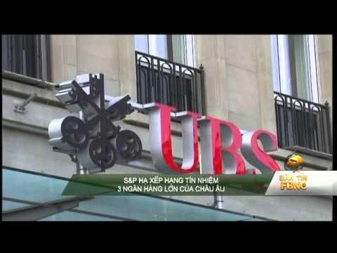 S&P hạ xếp hạng tín nhiệm 3 ngân hàng lớn của châu âu