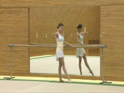 Alina Kabaeva Rhythmic Gymnastic Traning Tips Ballet Part3