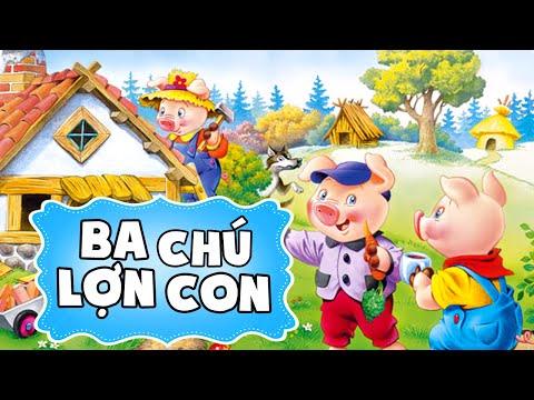 Ba chú lợn con - Truyện cổ tích hay - Phim hoạt hình đặc sắc