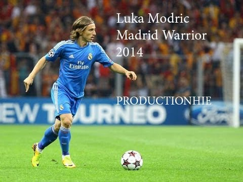 Luka Modric - Madrid Warrior 2014