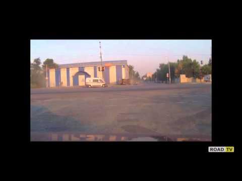 Скорая vs маршрутка ДТП в Днепропетровске