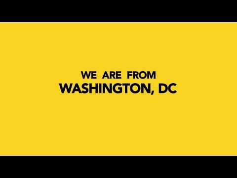 Happy Pharrell Williams / We Are From Washington, DC