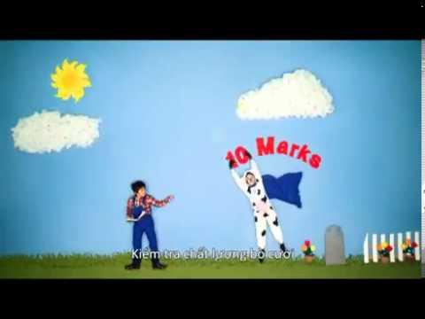 Clip bé hát rap về sữa Cô Gái Hà Lan