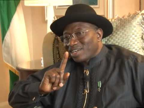 President Goodluck Jonathan's Interview