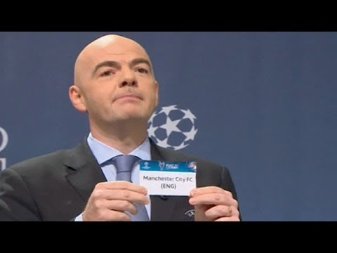 Champions League draw: Manchester City to play Barcelona, Arsenal face Bayern Munich