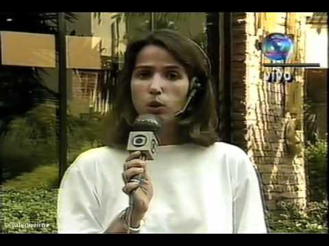 Jornal Hoje - Morte de Ayrton Senna - 02/05/1994 Parte 01 de 03