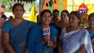 సింహాద్రి నగర్ లో బతుకమ్మ సంబురాలు.. అన్నదానం (వీడియో)