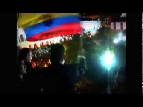 REELECCION 2017 PRESIDENTE RAFAEL CORREA : HIMNO NACIONAL DEL ECUADOR