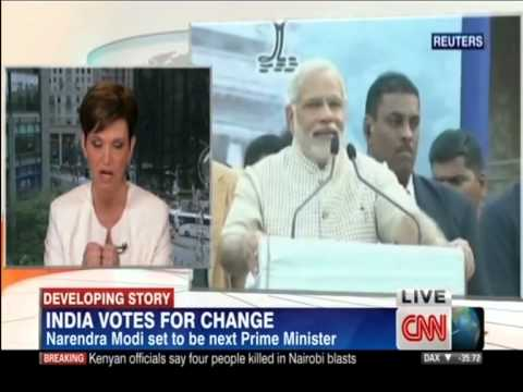 India Now Stronger than China - Election 2014 (CNN)