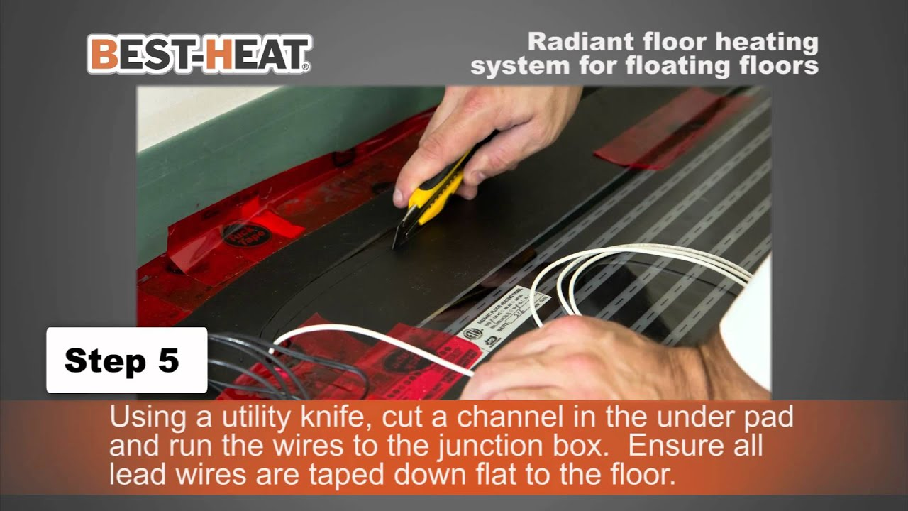 Best Heat Electric Heating System for Floating Floors   #AC3D1F