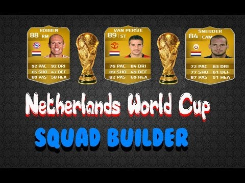 FIFA 14 Netherlands Squad Builder For (World Cup 2014) 500k