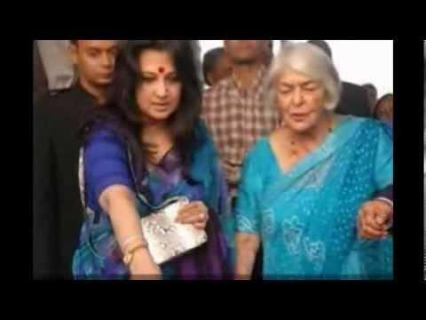 Suchitra Sen at an Old age