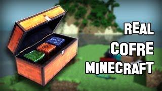 Como Hacer El Cofre (Chest) De Minecraft Real Con