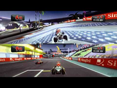 We Play F1 Race Stars - Xbox 360 - Initiation Cup - Singapore