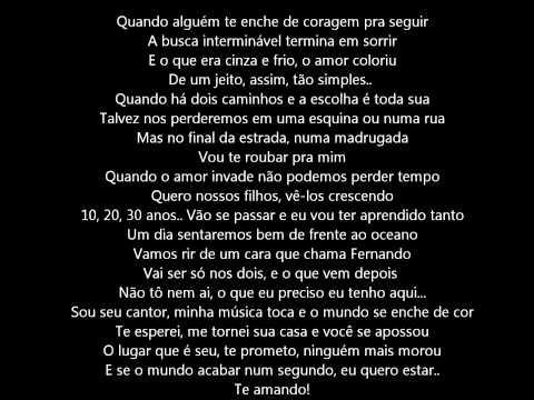 O Amor Coloriu - Luan Santana (com letra)