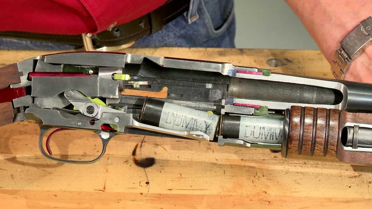 Gunsmithing How A Winchester Model 12 Works Cycle Of
