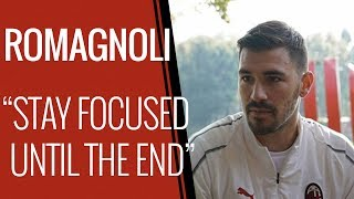 """Romagnoli: """"Being Captain makes this derby is even more fascinating"""""""
