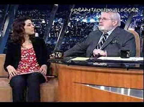 Marcela Leal no Jô Soares