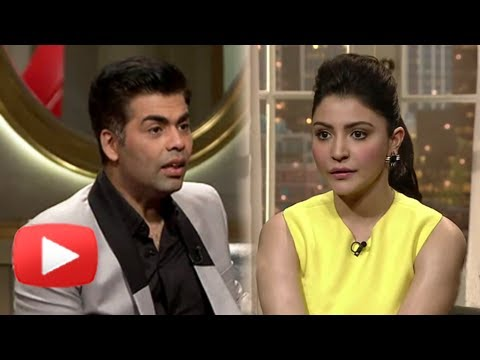 OMG! Anushka Sharma Asks Karan To Shut Up! - Must Watch, Koffee With Karan Season 4