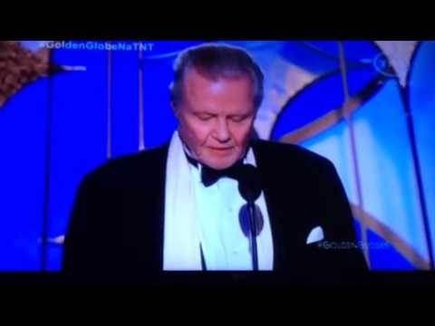 Golden Globes Awards 2014 - Jon Voight wins Best Supporting Actor in a Series, Mini-Series