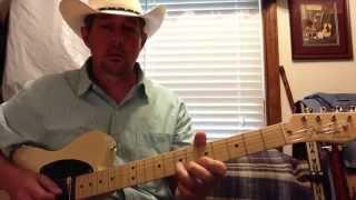 Folsom Prison Blues Lead Guitar In E